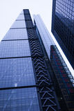 Background of contemporary glass building skyscrapers Royalty Free Stock Image