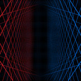 Background with contrast webs. Illustration of background with contrast symmetrical webs Stock Photography