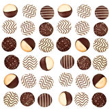 Background of cookies Royalty Free Stock Image