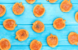 Background cookies with jam Royalty Free Stock Photography