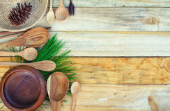 Background for the cooking. Royalty Free Stock Photos