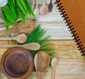 Background for the cooking. Stock Images