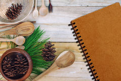 Background for the cooking. Royalty Free Stock Images