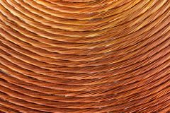 Background of copper coil Royalty Free Stock Photography
