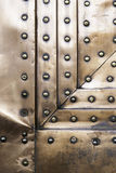 Background copper rivets Stock Images