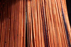 Background of Copper Royalty Free Stock Image