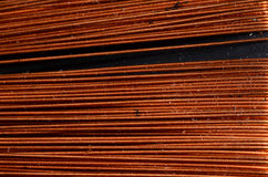 Background of Copper Royalty Free Stock Photos