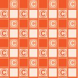 Background with copyright symbol Royalty Free Stock Photos