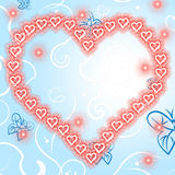Background Copyspace Indicates Valentine Day And Affection Stock Photography