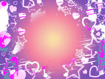 Background Copyspace Shows Valentine Day And Copy-Space Stock Images