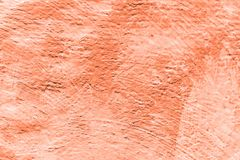 Background coral color. Abstract painted decorative background.  royalty free stock image