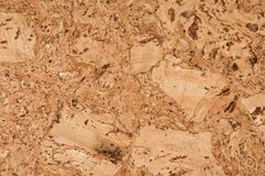 Background cork  floor tile Royalty Free Stock Images