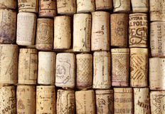 Background corks Stock Images