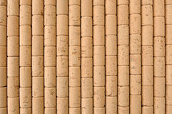 Background of corks. Background of new corks lined Royalty Free Stock Images