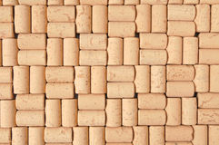Background of corks Stock Photography
