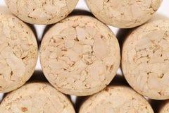 Background of corks stock image