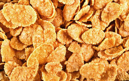 Background of corn flakes Royalty Free Stock Photo