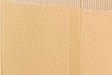Background of corrugated cardboard Stock Image