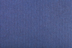 Background from corrugated dark blue color paper Stock Photos