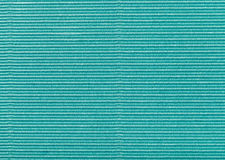 Background from corrugated wrapping green paper Stock Images