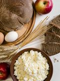 Background of countryside dairy farming food Stock Photos