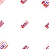 Background for coupon ticket Stock Photo