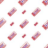 Background for coupon ticket royalty free illustration