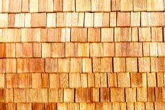 Background covered with wooden scales Royalty Free Stock Images