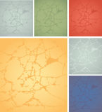 Background crack. Background with cracks of different colors Stock Photography