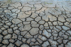 Background cracked of soil in arid season. Background dry cracked of soil in arid season Royalty Free Stock Image