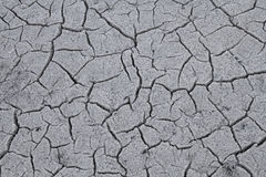 Background - cracks in dry crust Stock Photos