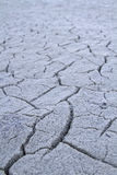 Background - cracks in dry crust Stock Photo