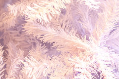 Background created by artificial Xmas tree Stock Photo