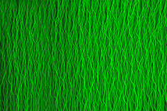 Background created with green laser light Stock Images