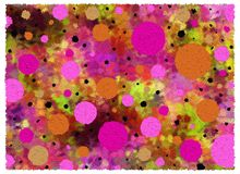 Background Crinkled Spots two Stock Images