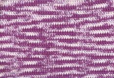 Background - crochet - variegated yarn Stock Photos