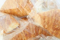 Background of croissant Royalty Free Stock Photo
