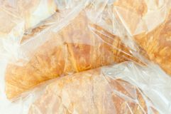 Background of croissant Royalty Free Stock Image