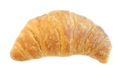Background of croissant Stock Image