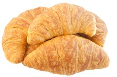 Background of croissant Royalty Free Stock Photos