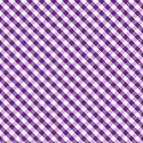 background cross gingham purple seamless weave 免版税库存照片