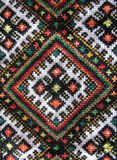 Background from cross stitch Royalty Free Stock Photo