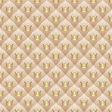 Background with crowns Royalty Free Stock Photo