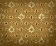 Background with crowns and rhombuses. Renaissance background with crowns and rhombuses Royalty Free Stock Photo