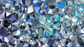 Background Crumpled foil Royalty Free Stock Photo