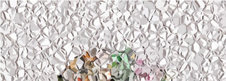 Background Crumpled foil Royalty Free Stock Images