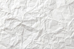 Background of crumpled paper. Background of white crumpled paper Stock Photos