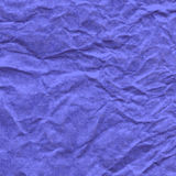 Background of crumpled paper in violet color Stock Images