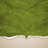 Background Crumpled  torn paper background Stock Photo