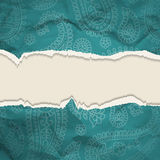 Background Crumpled  torn paper background Royalty Free Stock Photo
